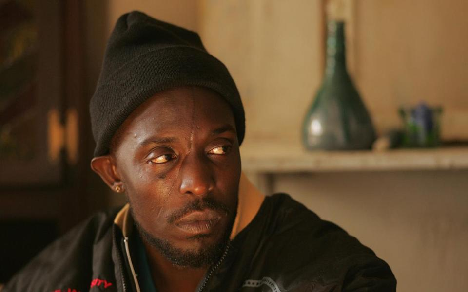 "Michael K. Williams in ""The Wire."""